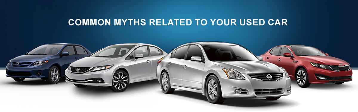 Common Myths Related to your Used Car