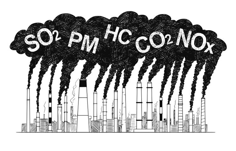 Air Pollutants Emissions Australia