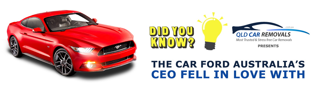 The Car Ford Australia's CEO Fell in Love With